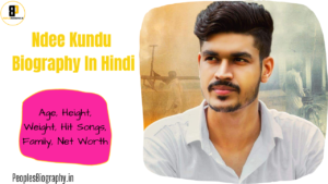 Read more about the article Ndee Kundu Biography in Hindi, Net Worth, Age, Height, Wiki, Family, Ndee Kundu Songs