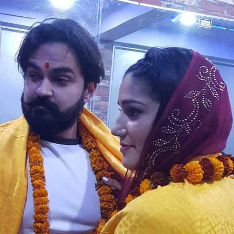 सपना चौधरी की शादी की फोटो (Sapna Chaudhary Marriage Photos)